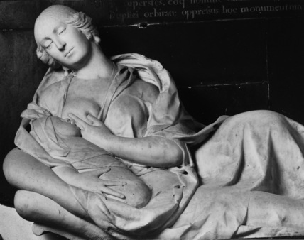 Chirk Parish Church;Monument to Elizabeth Lady Myddelton