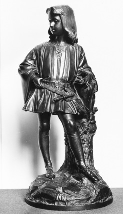 Statuette of Lord Albert Leveson Gower