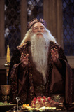 Dumbledore speaks to the school
