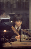 Harry in potions class