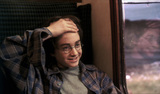 Harry on Hogwarts Express