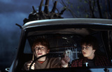 Harry & Ron in Ford Anglia