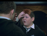 Ron as Crabbe turning back into Ron