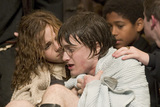 Hermione consoles a wet Harry