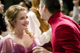 Hermione dancing with Viktor Krum at the Yule Ball