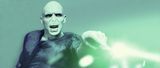 Voldemort casts a deadly spell