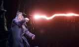 Dumbledore fighting Voldemort creates flash of light