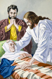 Jesus heals Simon's mother-in-law