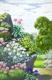 Rockery and church