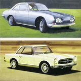 Reliant Scimitar, Mercedes Benz 250SL