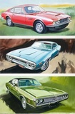 Aston Martin, Plymouth Satellite, Dodge Coronet