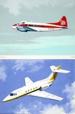 Hawker Siddeley Dove & Hawker Siddeley HS 125