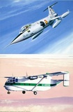 Lockheed F-104 Starfighter  & Short SC-7 Skyvan