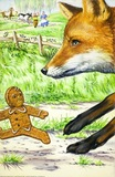 The gingerbread boy and fox