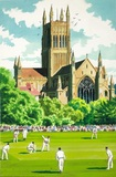 A county cricket match