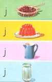 Jam, jelly, jug, jar