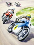Motor cycling race