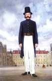 Uniform of an early policeman
