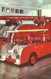 Large and small fire engines