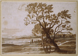 Landscape with two Trees