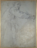 Study of a draped male Figure
