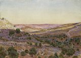 The Hills of Moab and the Valley of Hinnom