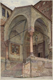 The North Porch of San Fermo, Verona