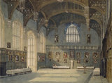 Inside View of the Hall of Christ Church, Oxford