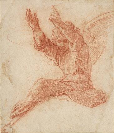 An Angel By Raphael 1483