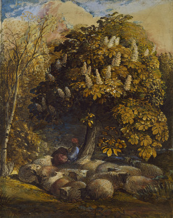 Pastoral with a Horse-Chestnut Tree