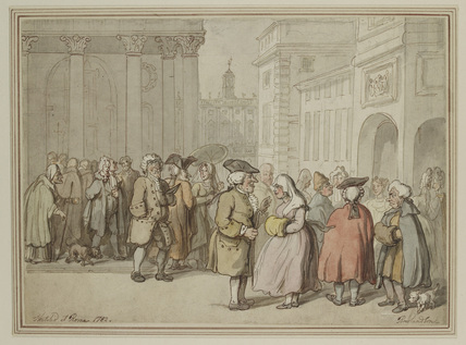 A Group sketched at Rome