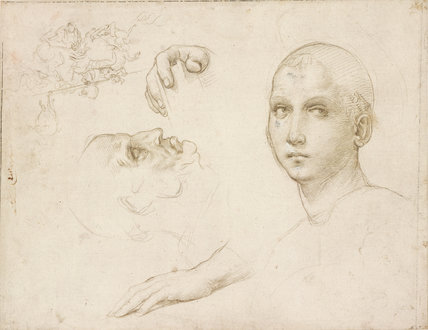 Studies for the Trinity of San Severo