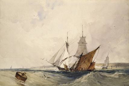 Shipping off the Kent Coast