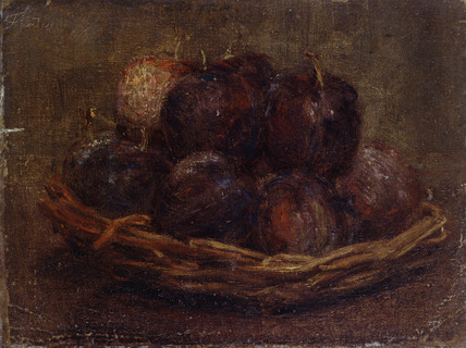 A Basket of Plums
