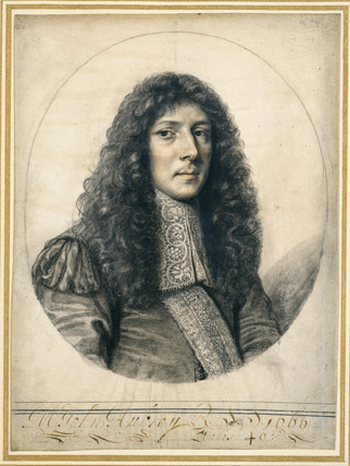Portrait of John Aubrey