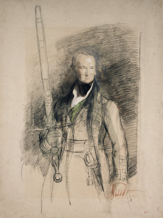 The Earl of Morton carrying the Sword of State