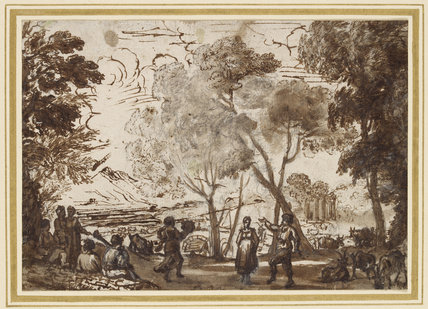 Dancers in a Grove
