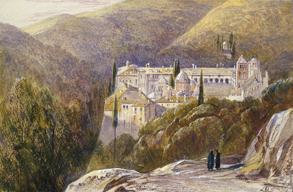 The Monastery of Zografu, Mount Athos