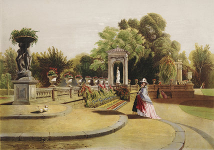 The Terrace Trentham Hall Gardens By At Royal