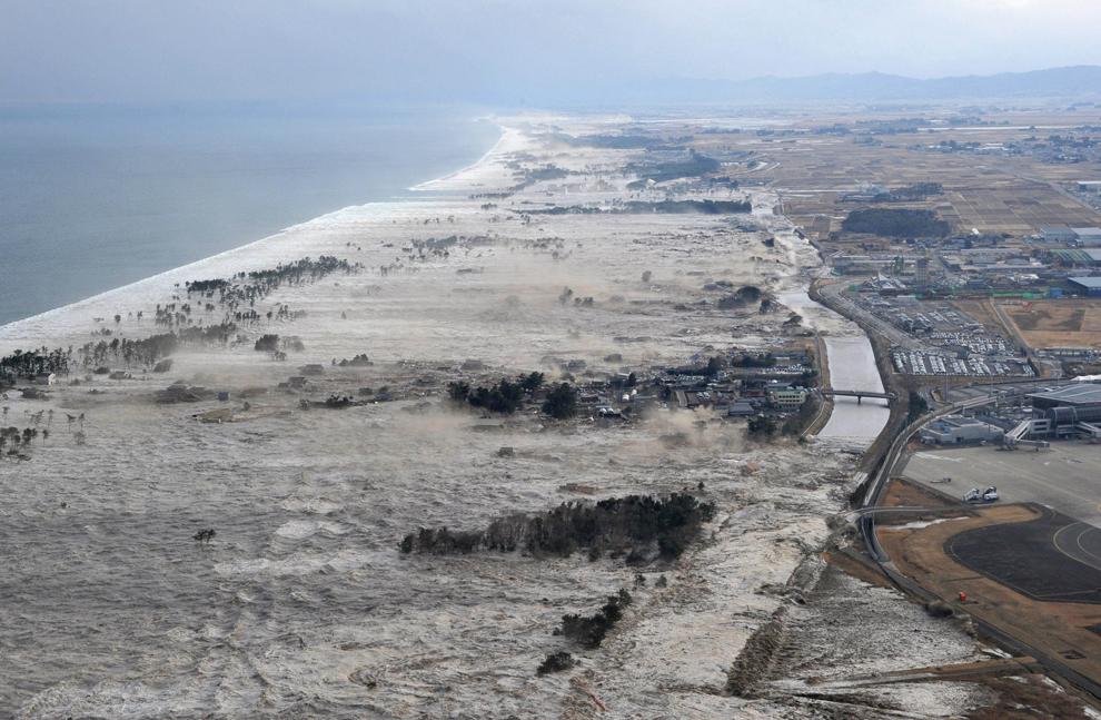 Terremoto y Maremoto en Los Ángeles