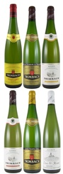 Trimbach Mixed Case: 6 Top Wines from the Outstanding 2007 Vintage (6 bottles)