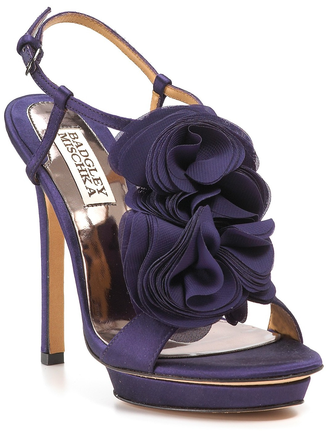Purple High Heels Wedding