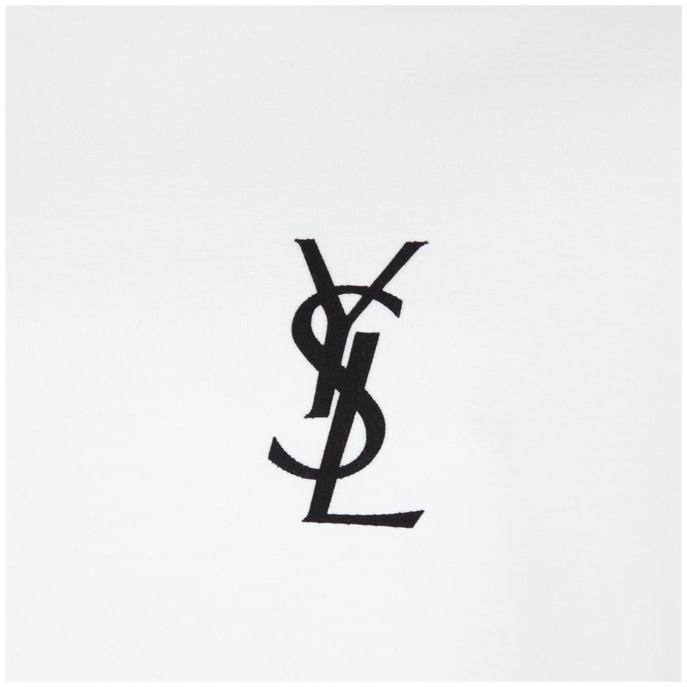 Photo collection ysl logo wallpaper related for Yves saint laurent logo shirt