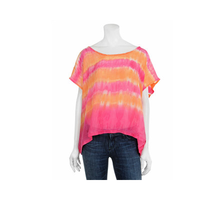 striped tie dye. Velvet - Tie Dye Stripe Top in