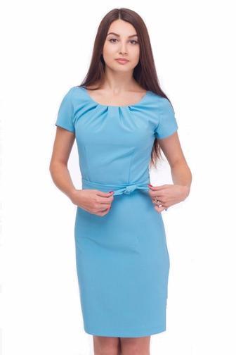 Фото платьев с защипами