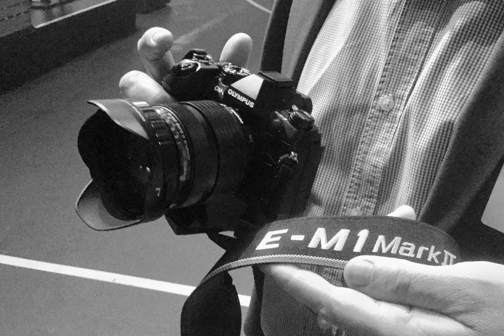 Olympus E-M1 Mark II. Kuva: Timo Ripatti
