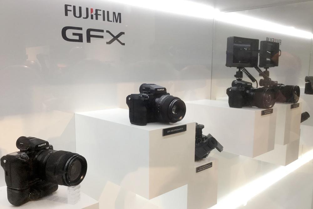Fujifilmin uutuudet. Kuva: Timo Ripatti