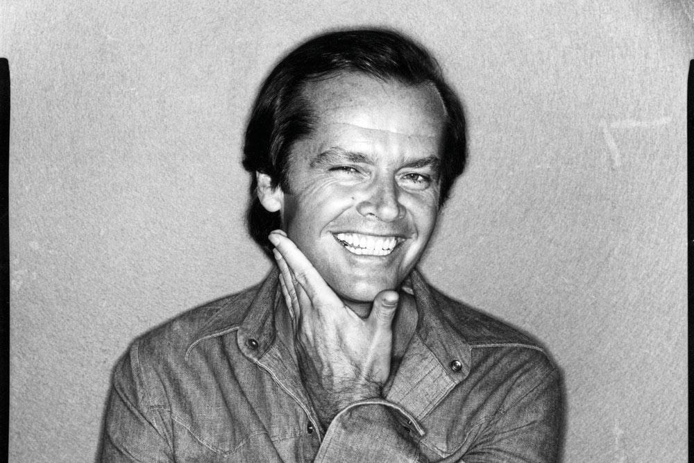 Jack-Nicholson, © David Bailey, 1978 a.