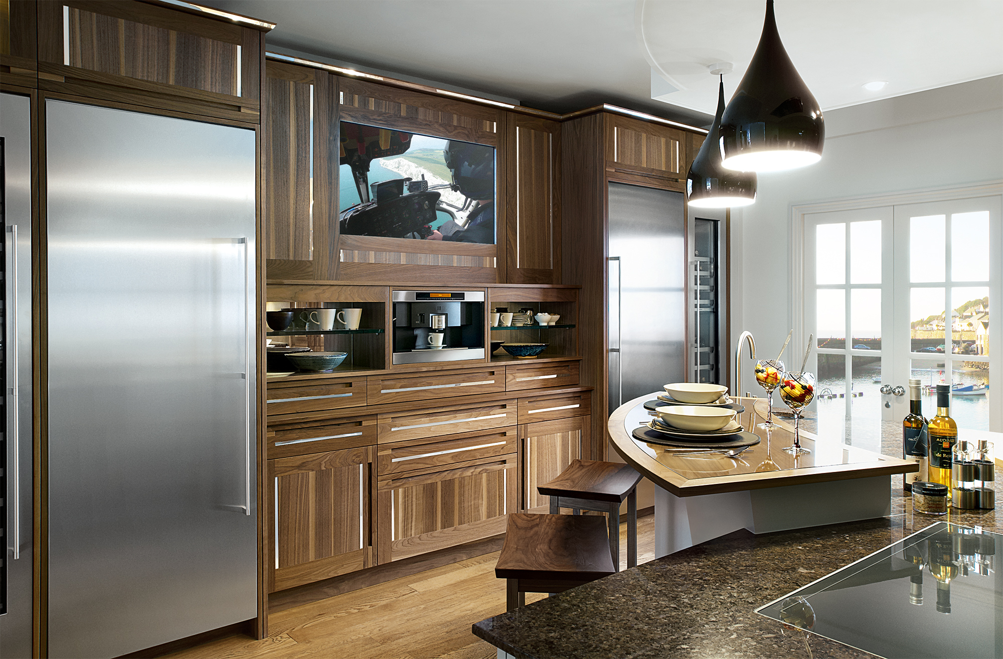 Luxury bespoke kitchens newlyn collection mark wilkinson for Kitchen designs namibia