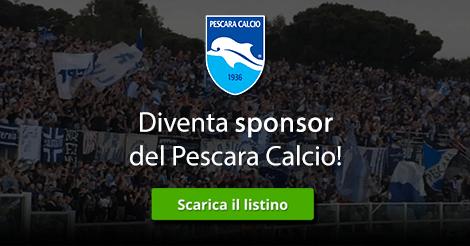 Diventa sponsor della diretta del Pescara Calcio!